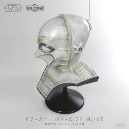 star wars cz-3 droid prop replica bust