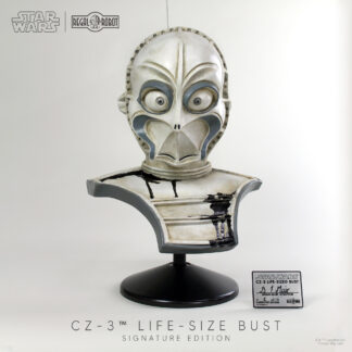 star wars cz-3 droid prop replica bust
