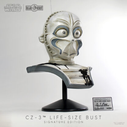 Mos Eisley CZ series droid life-sized costume statue