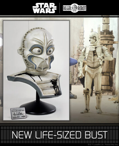 1:1 bust of CZ series droid like CZ-3 or CZ-4