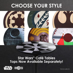 star wars tables and furniture for adults
