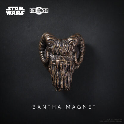 Bantha sculpture or statue bust