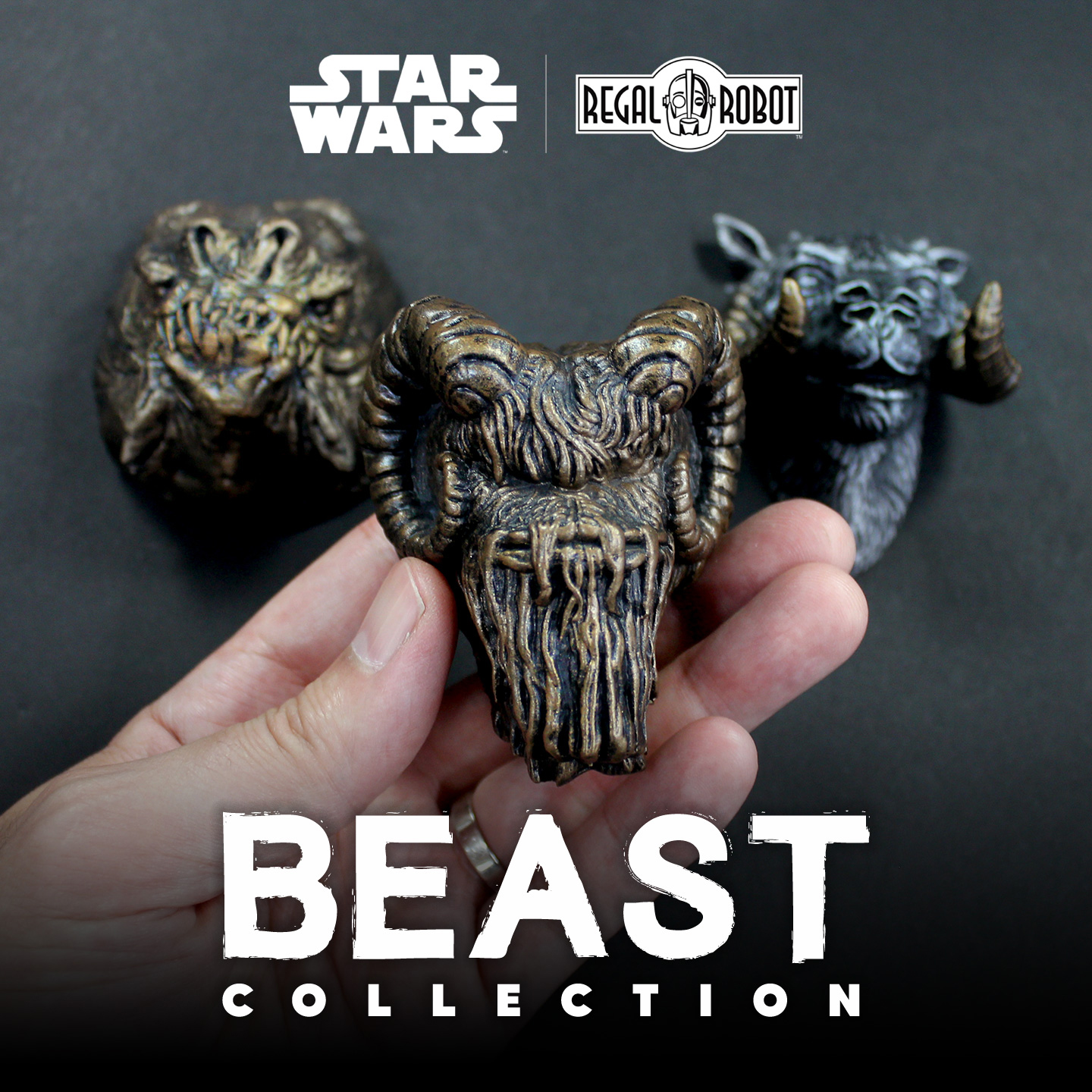 Star Wars Magnets from Regal Robot's Beast Collection