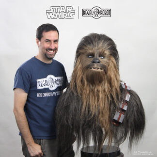 Star Wars lifesize bust of Peter Mayhew as Chewbacca the Wookiee