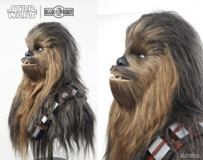 1:1 Star Wars lifesize bust statue Chewbacca the Wookiee