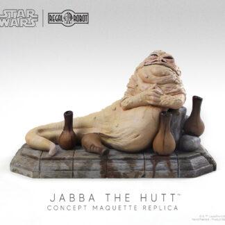 jabba the hutt concept maquette