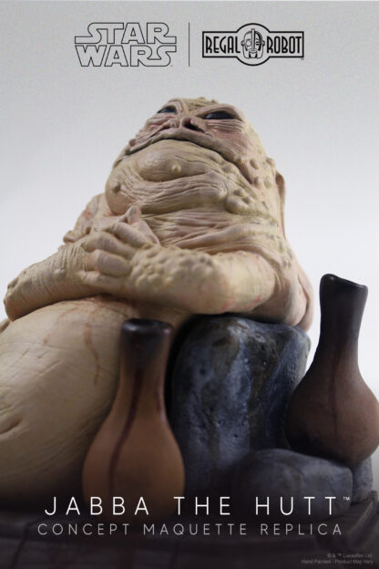 Phil Tippett Jabba the Hutt concept art