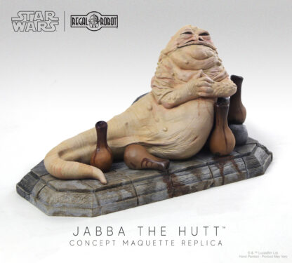 jabba the hutt concept sculpture statue
