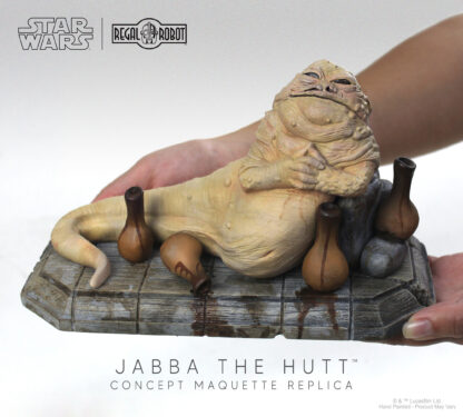 limited edition Star Wars Jabba the Hutt figure