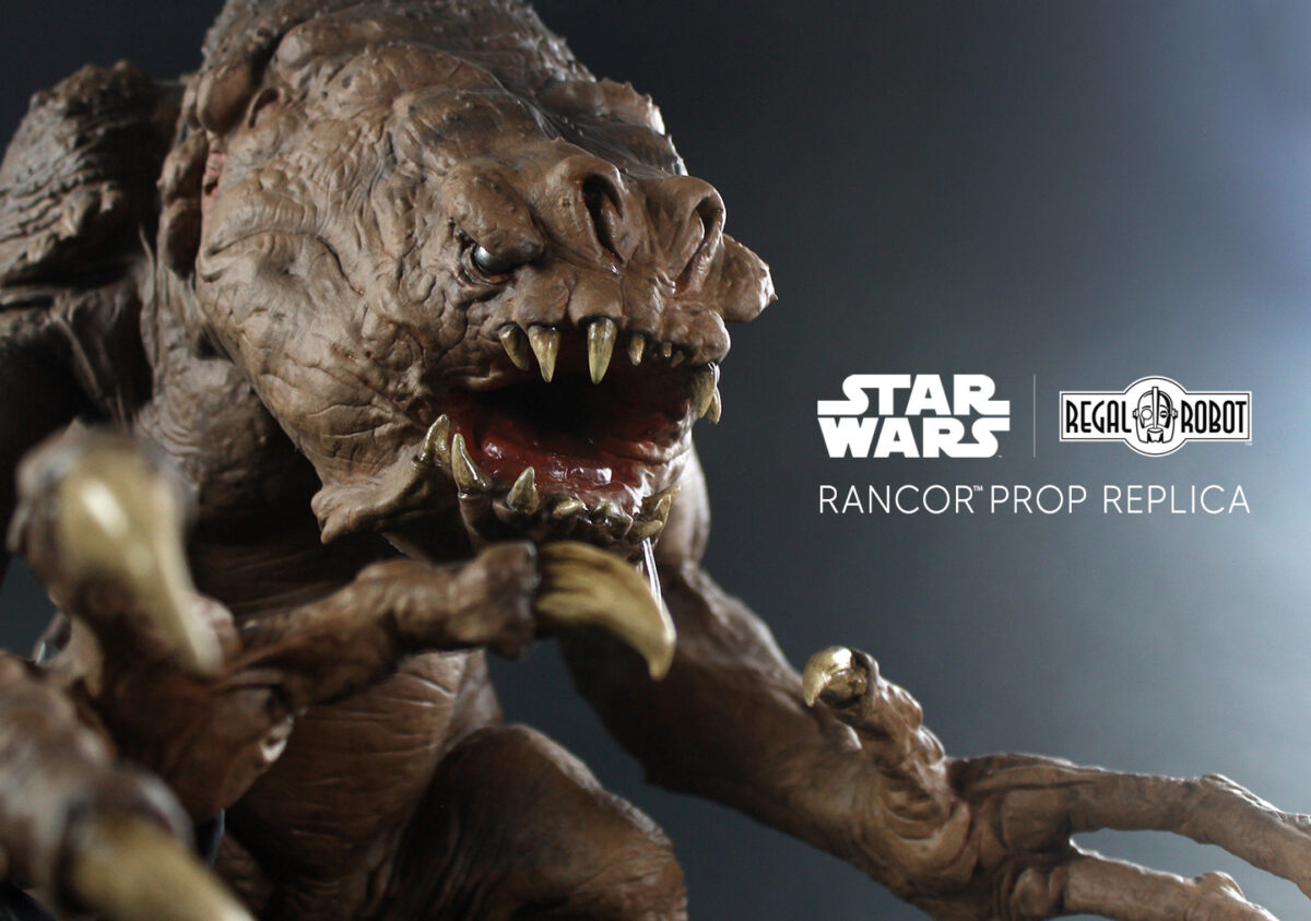 Replica of The Rancor from Jabba the Hutt's Palace on Tatooine