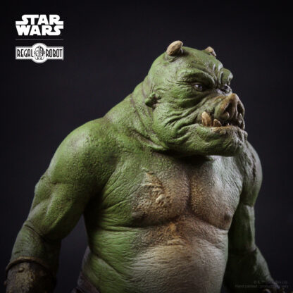 Gamorrean guard Star Wars statue from The Mandalorian
