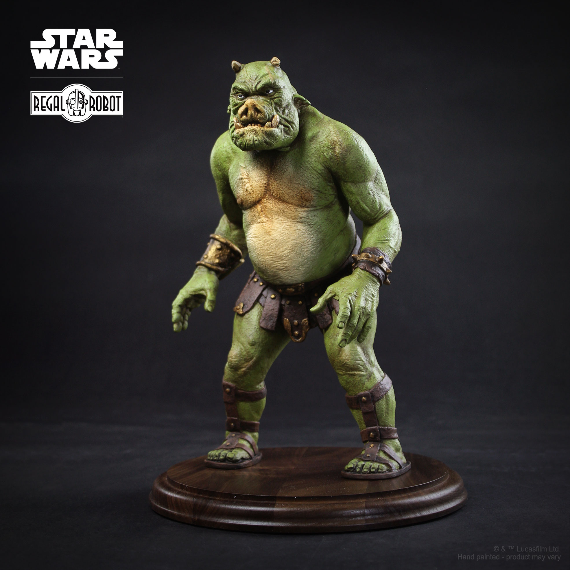 Gamorrean guard Star Wars statue, about 1/6th scale