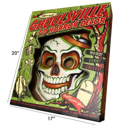 retroagogo geeky horror skull bones decorations home office classic ghoulsville
