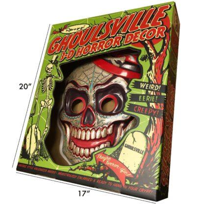 retroagogo geeky vacform shiny horror skull bones decorations home office