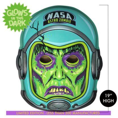 retro spooky weird horror monster halloween art astronaut space