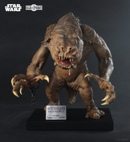 1:1 prop replica statue Rancor from Return of the Jedi