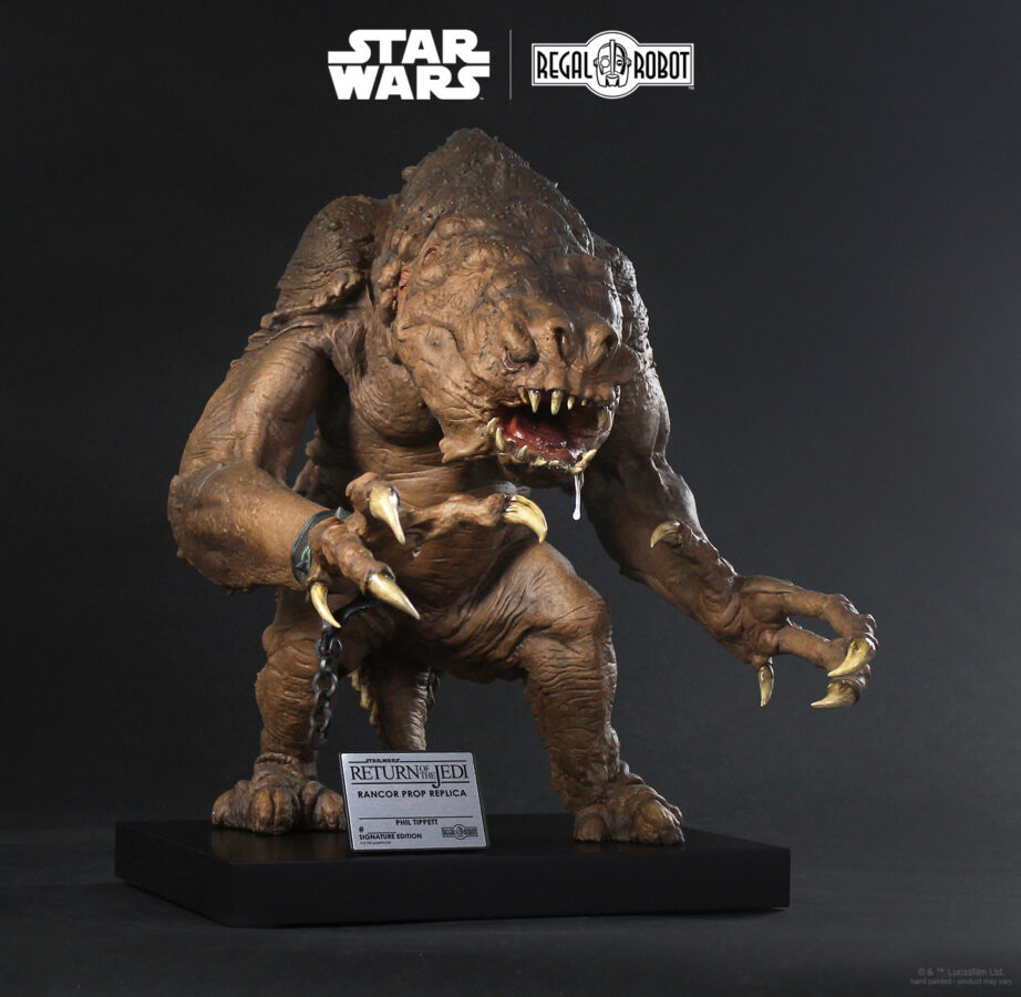 1:1 prop replica Rancor from Return of the Jedi