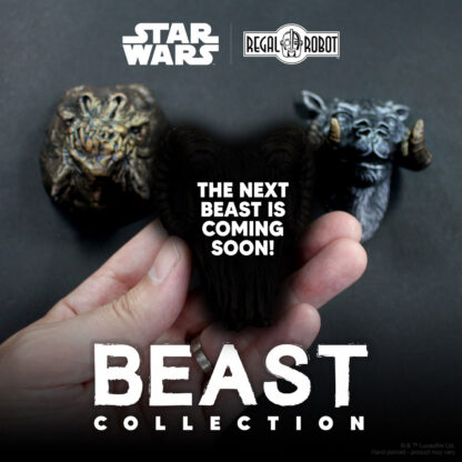 star wars tauntaun and rancor magnets