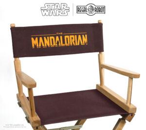 The Mandalorian directors chair or folding chair