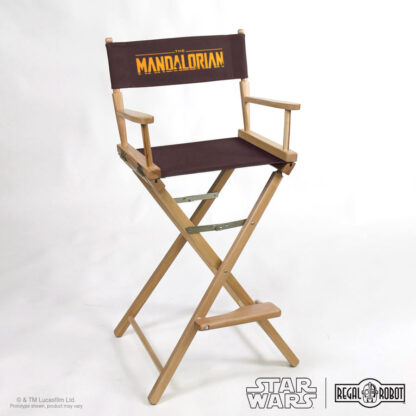 The Mandalorian directors chair or folding chair