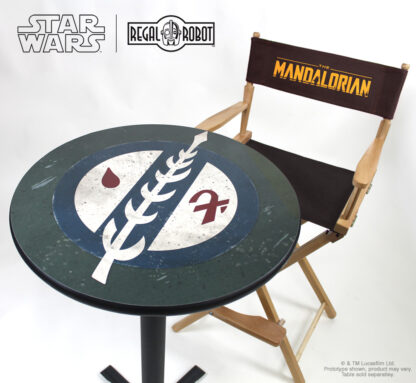 Star wars director chair from the Mandalorian