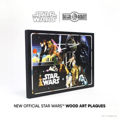 Vintage kenner vinyl carrying case art Star Wars