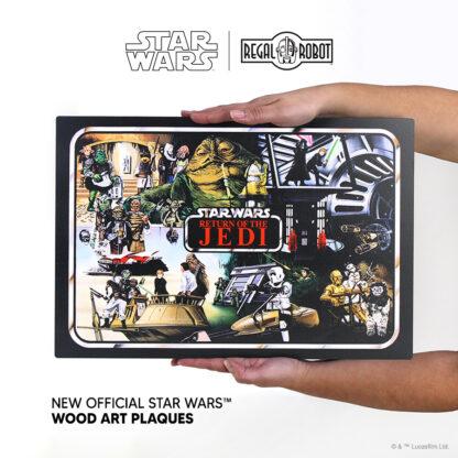 Vintage kenner vinyl carrying case art Return of the Jedi