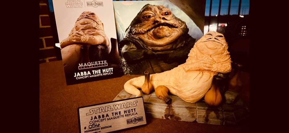 Star Wars replica maquette from Return of the Jedi