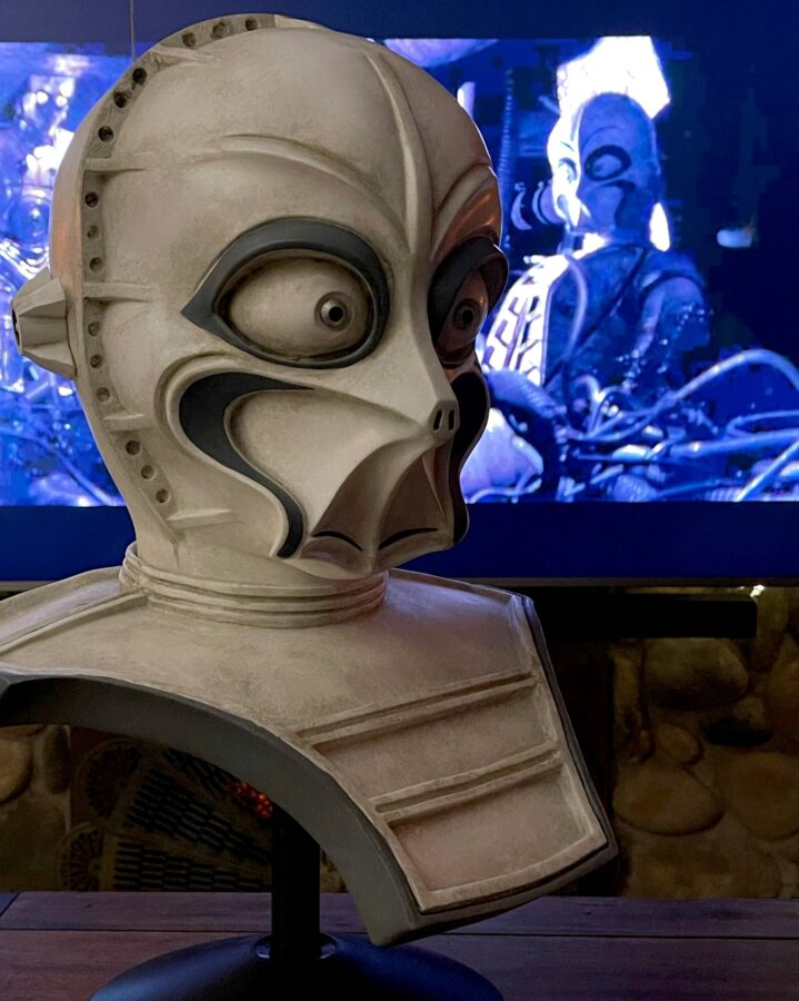 1:1 life sized busts of CZ series droids like CZ-3 or CZ-4