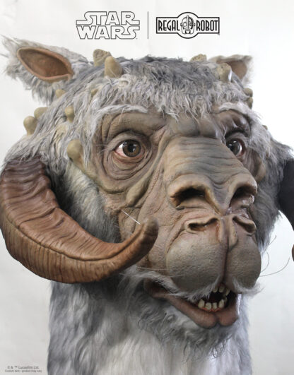Custom Empire Strikes Back 1:1 tauntaun bust by Regal Robot