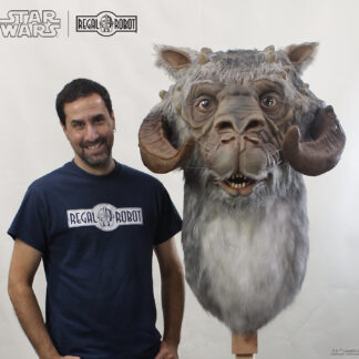 Han Solo's life-sized tauntaun bust from ESB