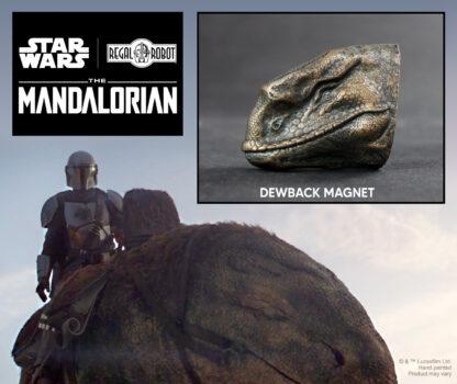 dewback beast from Star Wars The Mandalorian