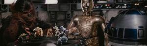 Regal Robot prop replica dejarik pieces