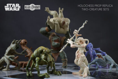 holochess monster figures made by Regal Robot