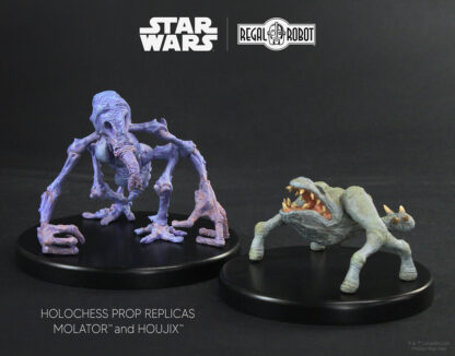 Star Wars holochess prop replica collectible statues