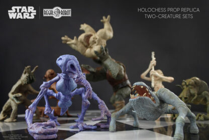 star wars dejarik figures from A New Hope