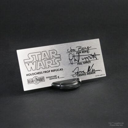 Regal Robot signature edition plaque