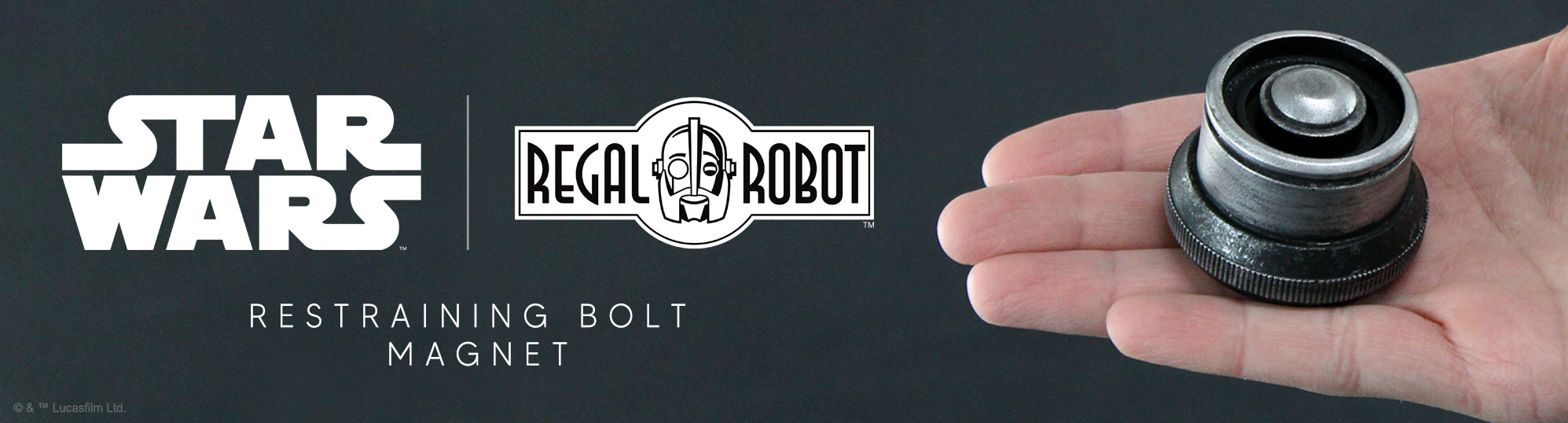 Star Wars resin magnet droid restraining bolt like Galaxy's Edge