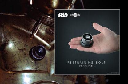 See Threepio restraining bolt magnetic
