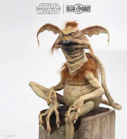 Jabba the hutt's salacious B. Crumb prop statue