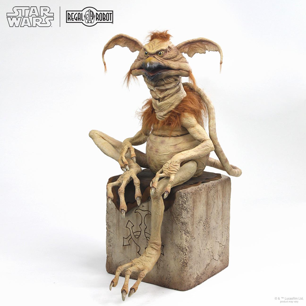 Jabba the hutt's salacious B. Crumb statue