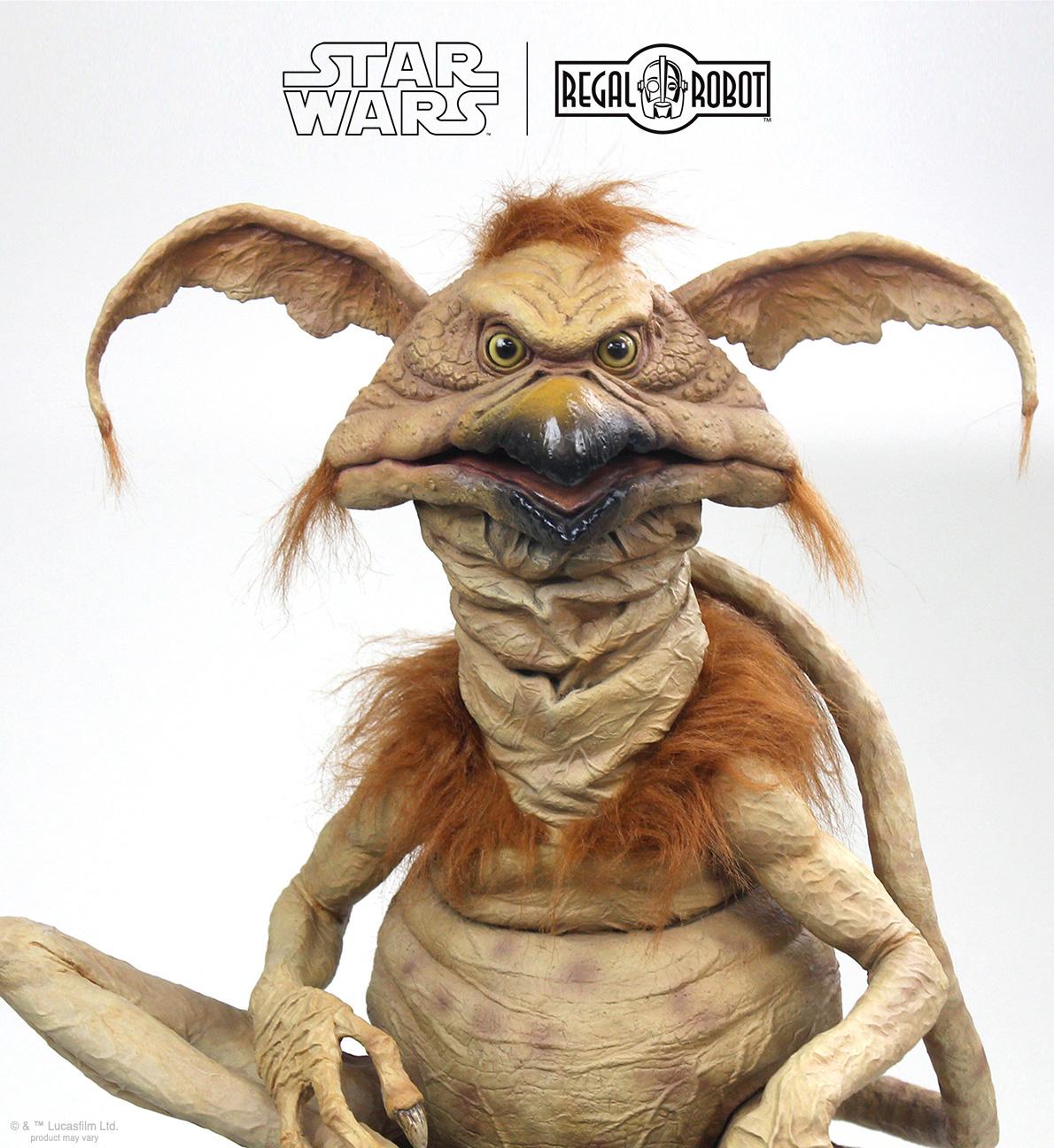 Jabba the hutt's salacious B. Crumb