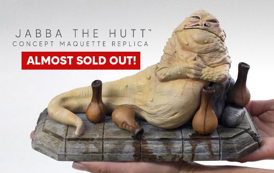Phil Tippett Star Wars concept sculpture replica