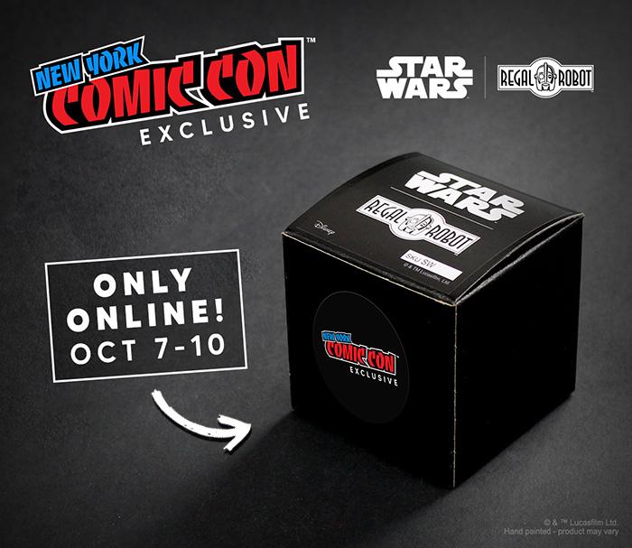 Luke Skywalker Tauntaun NYCC exclusive magnet