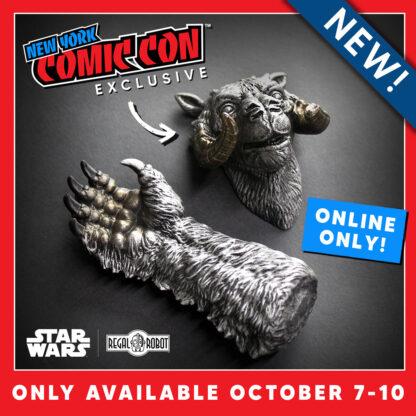 The Empire Strikes Back Luke Skywalker's tauntaun with broken horn